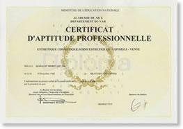 フランス国家資格CAPエステティック&コスメティック取得